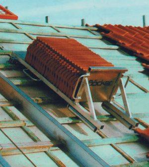 Dachziegelverteiler
