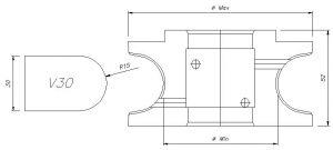 CNC Profilfräser V
