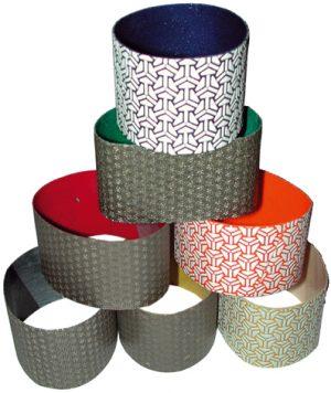 Diamantschleifbänder 75x50 mm