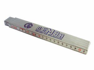 Maßstab aus Kunststoff, Länge 2 m