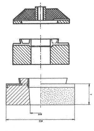 SF Schleifringe,  Keramische Bindung Dm. 100mm